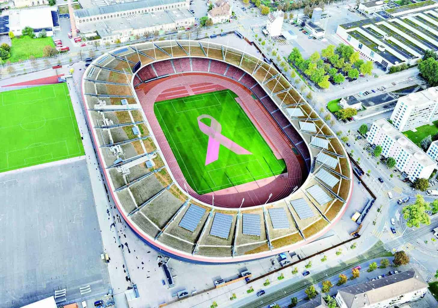 Pink ribbon charity walk letzigrund