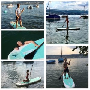Stand Up Paddle Board on Sun Moon Lake