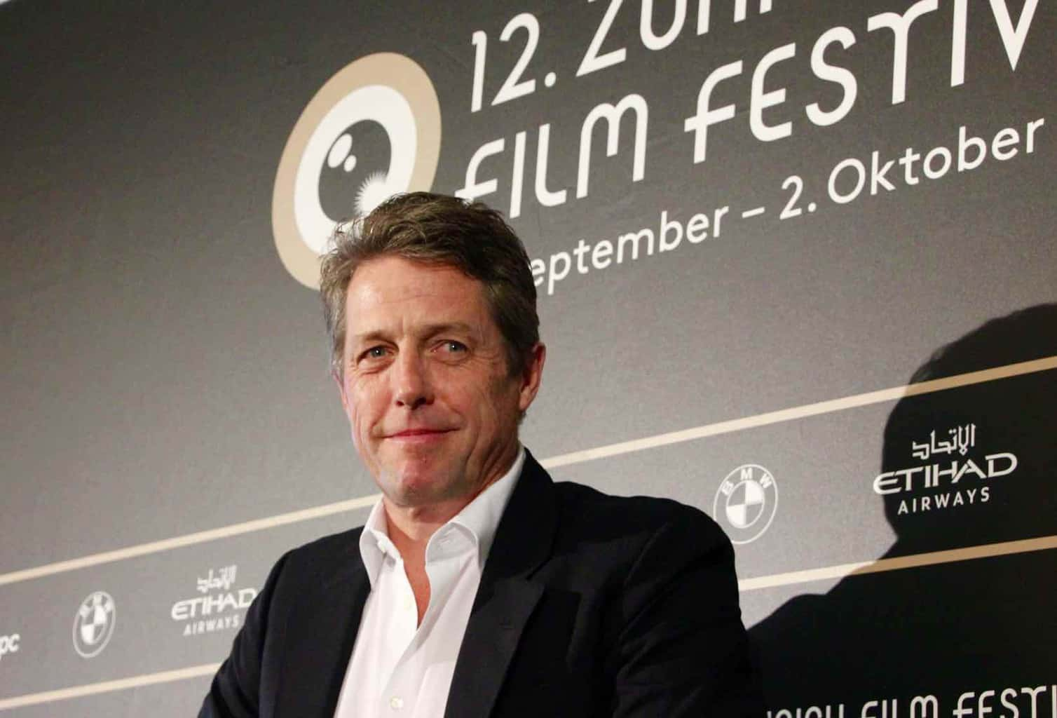 Hugh Grant at zff zurich film festival