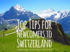 Top Tips for Newcomers to Switzerland