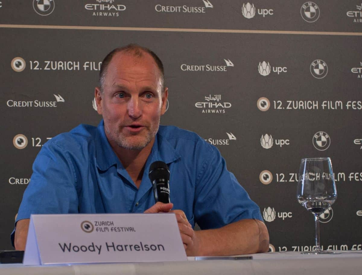 Woody Harrelson at Zurich Film Festival