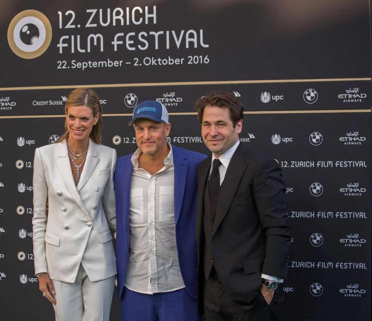 Woody Harrelson, Nadja Schildknecht and Karel Spoerri ZFF
