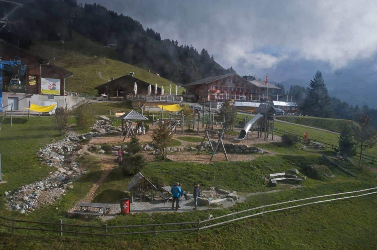 Playground at Bort Grindelwald First