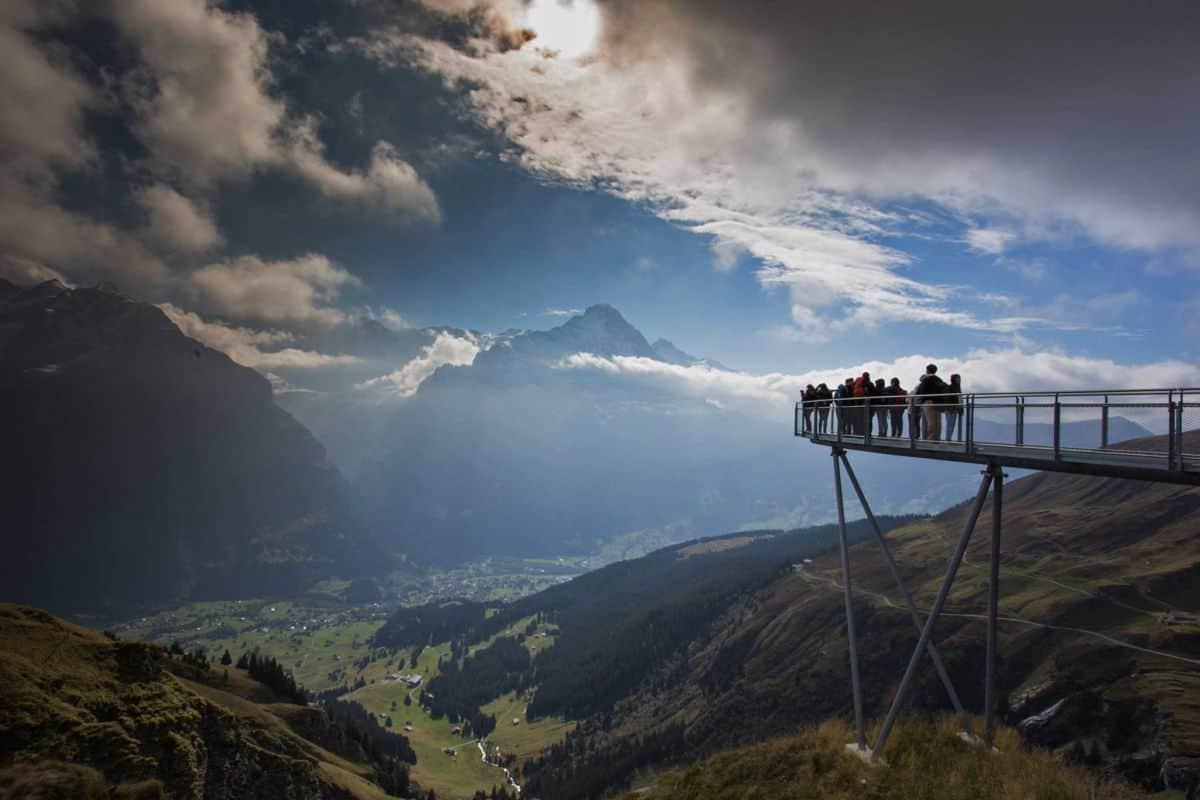 First Cliff Walk Tissot in Jungfrauregion
