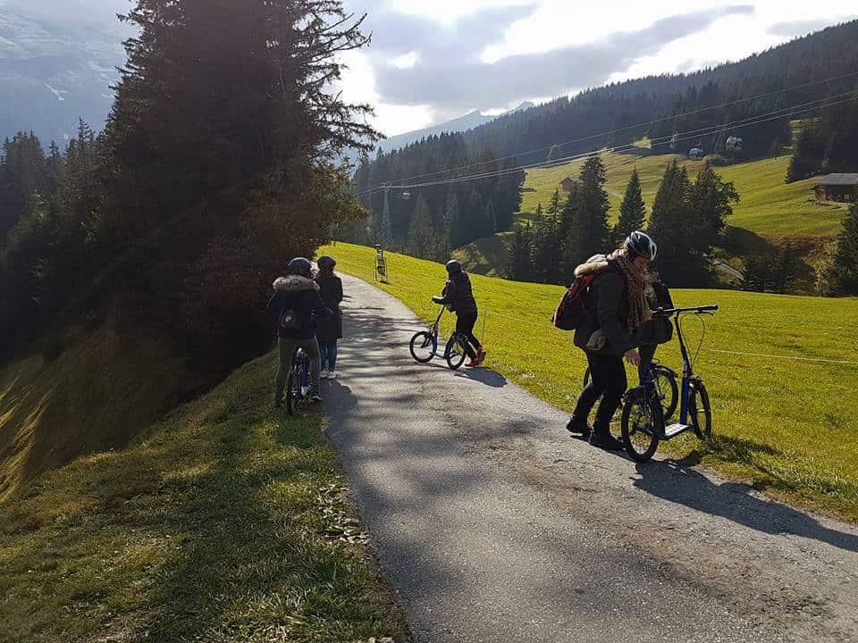 Trott Bikes at Grindelwald First