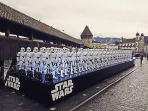 Star Wars Storm Troopers in Lucerne