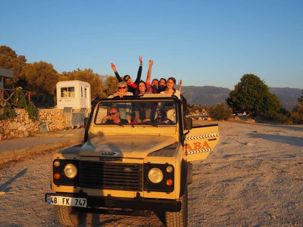 Jeep Safari in Turkey