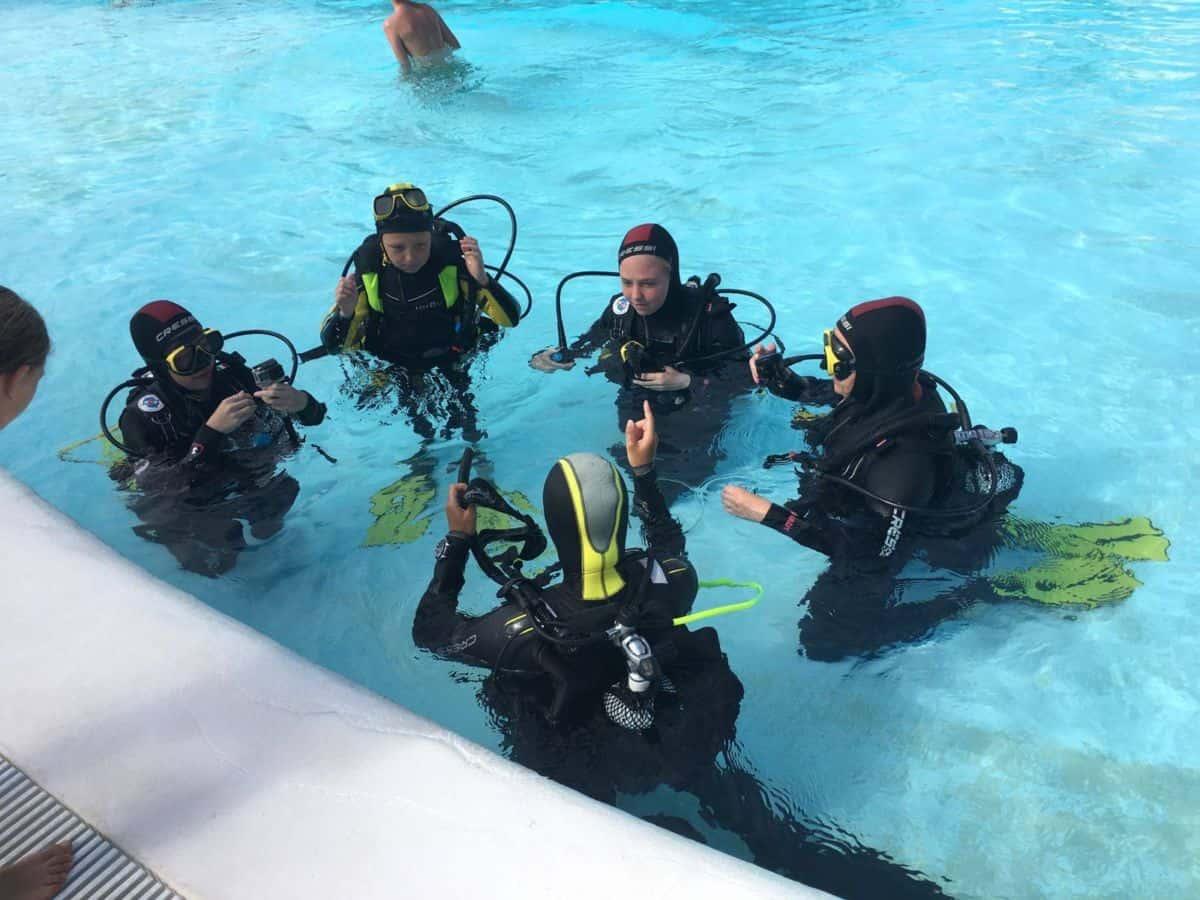 Diving at Club La Santa Lanzarote