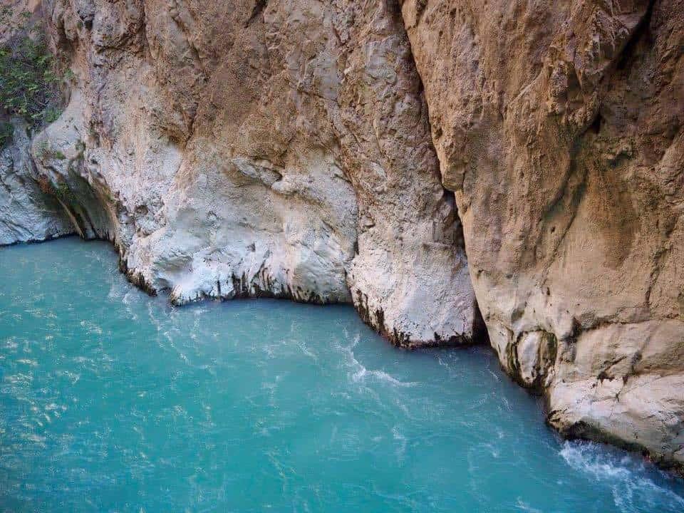 The gorge at Saklikent Turkey near Fethiye