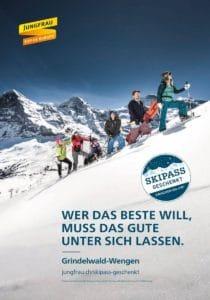 Jungfrau region skipass geschenkt