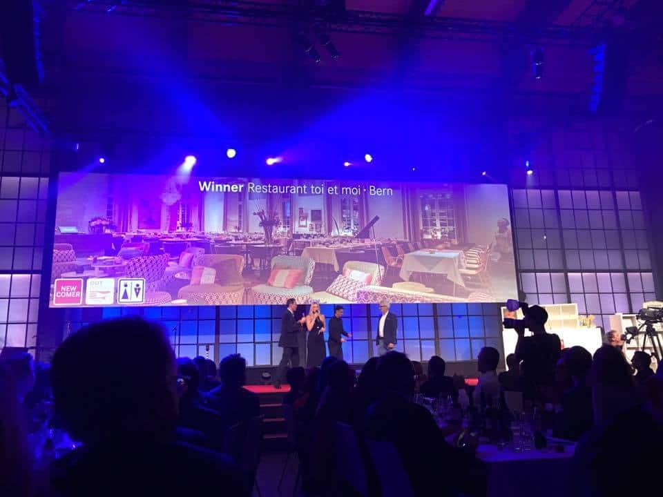 Best of Swiss Gastro Awards for 2017