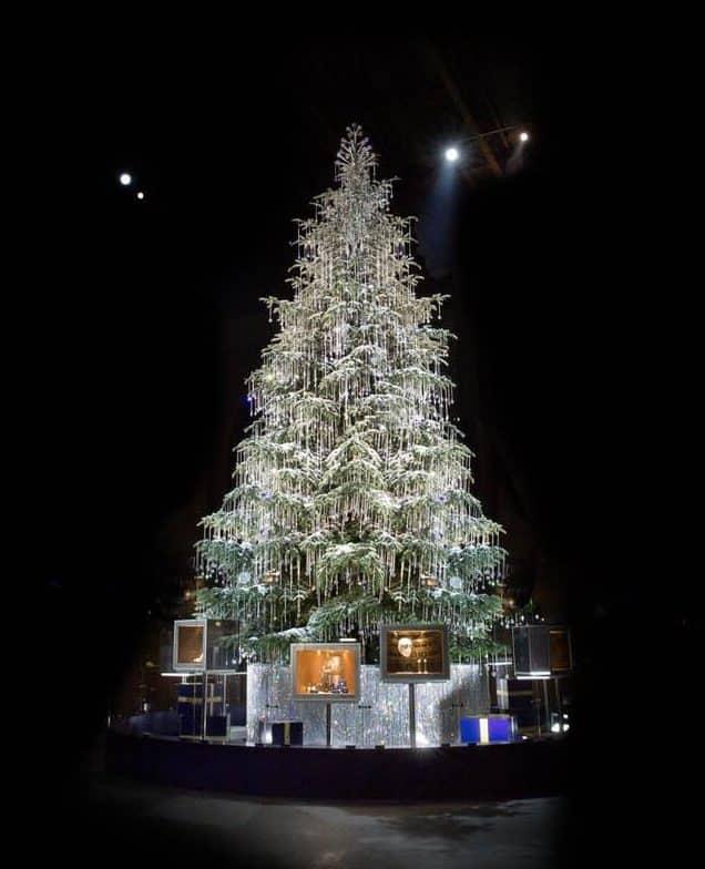 Swarovski Christmas tree Debora Eliyo-Zeyrek