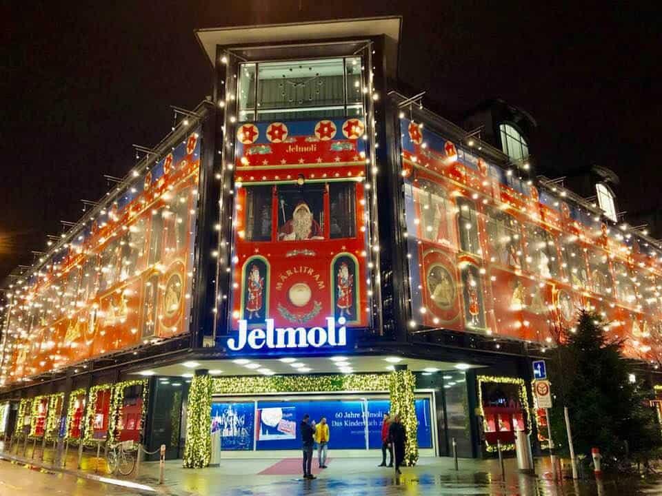 Jelmoli Märlitram Zurich Celebrates 60 years