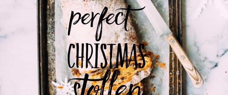 Christmas Stollen Recipe