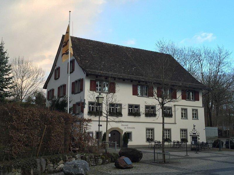 Wirtschaft our Kittenmühle Herrliberg