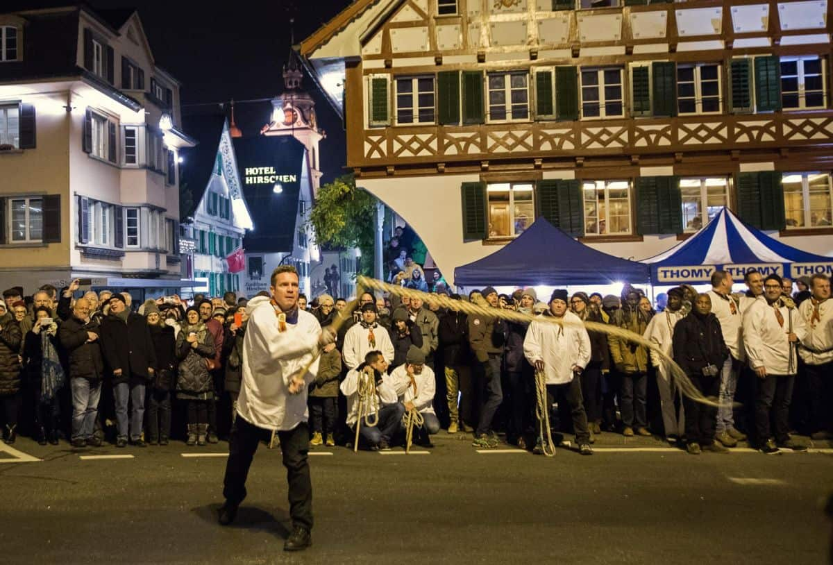 The Klausjagen St Nicholas Procession Küssnacht am Rigi