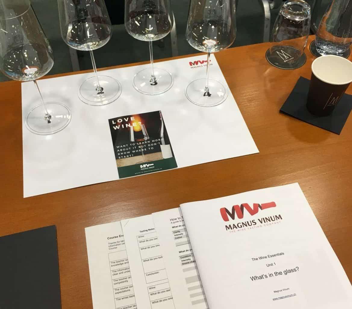 Tim Magnus and Magnus Vinum Wine Courses