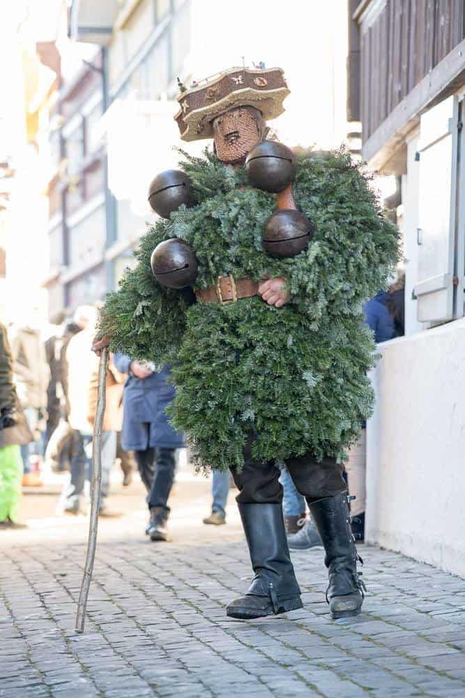 The Appenzell Silvesterkläuse Celebrations Urnäsch