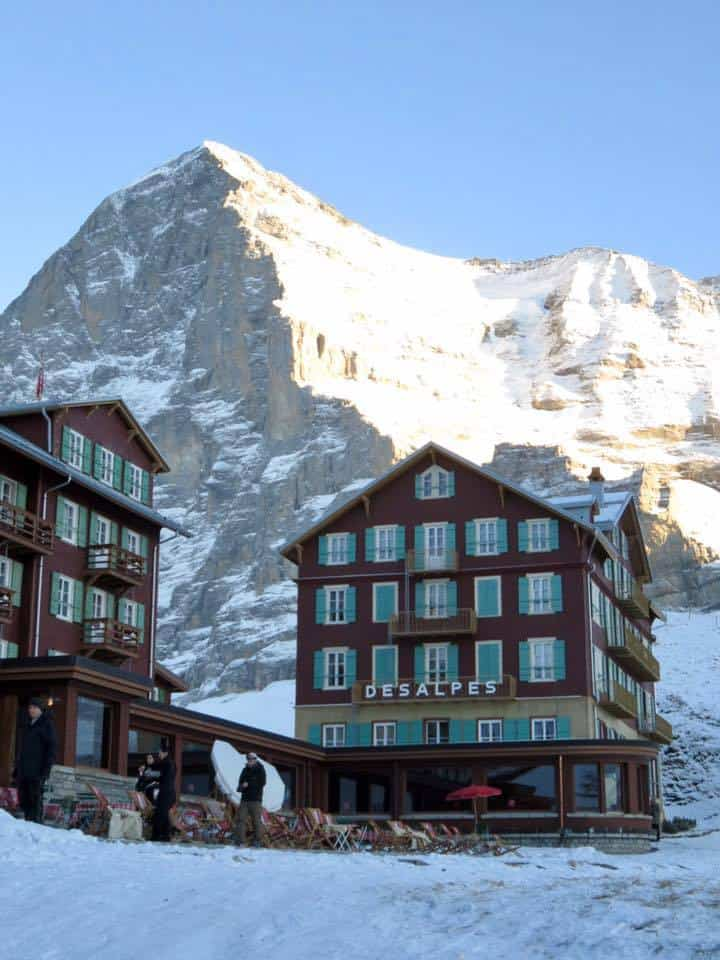 Grindelwald and Jungfrau ski region