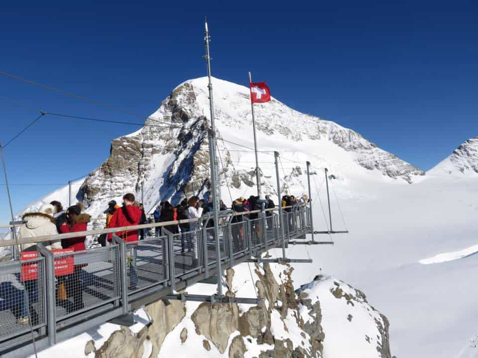 Jungfraujoch Top of Europe Switzerland