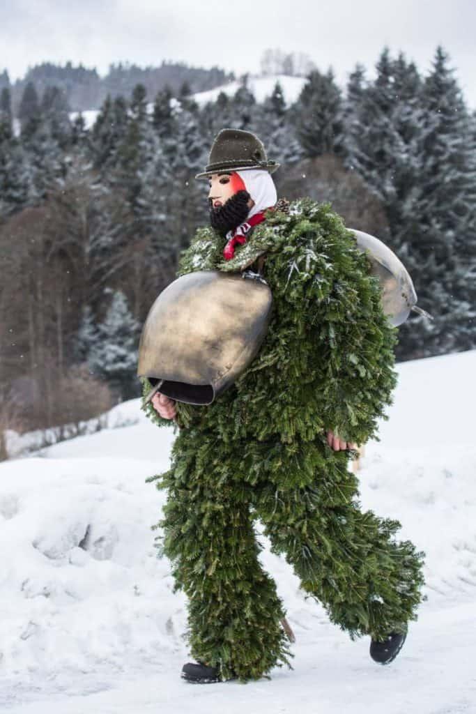Silversterklause Celebrations Appenzell by Carmen Sirboiu