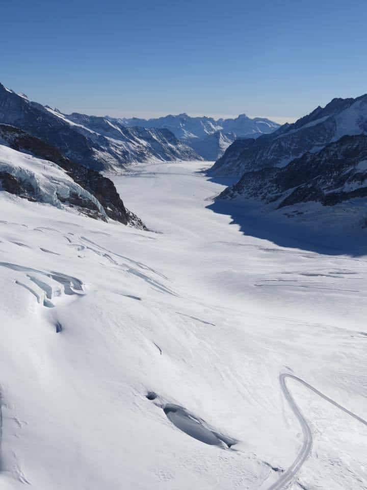 The Aletsch Glacier Jungfraujoch