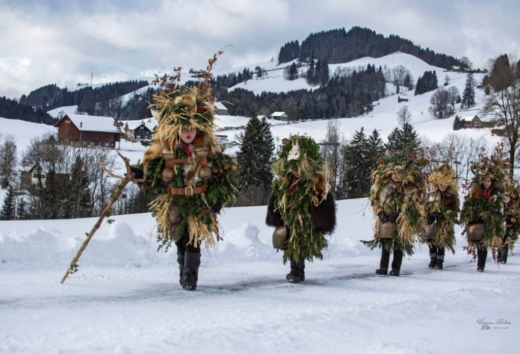 Silversterklause Celebrations Appenzell by Carmen Sirboiu
