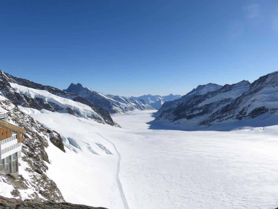 Aletsch Glacier Top Of Europe