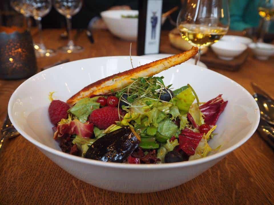 Salad at Restaurant ENIT Zurich