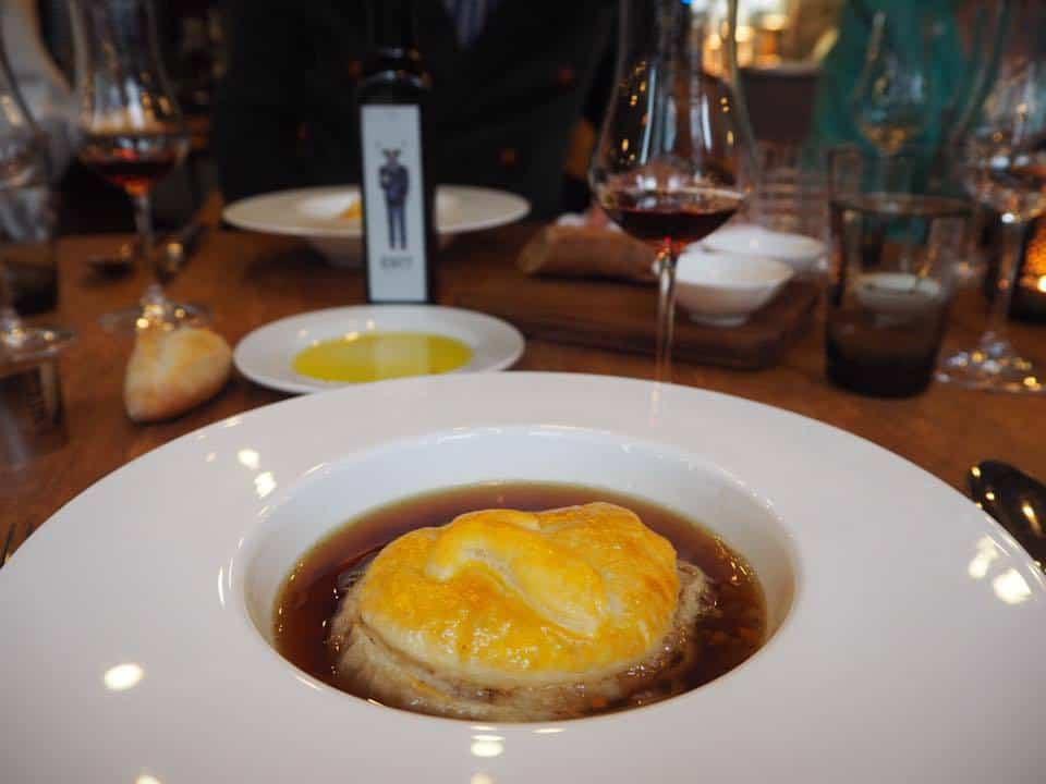 Soup at Restaurant ENIT Zurich