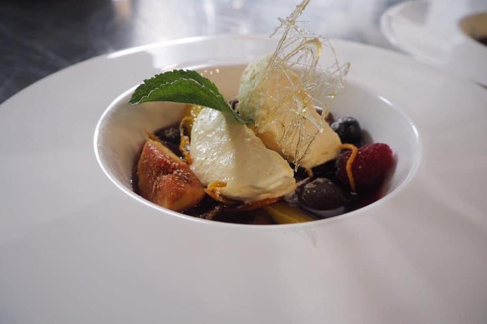 Dessert at Restaurant ENIT Zurich