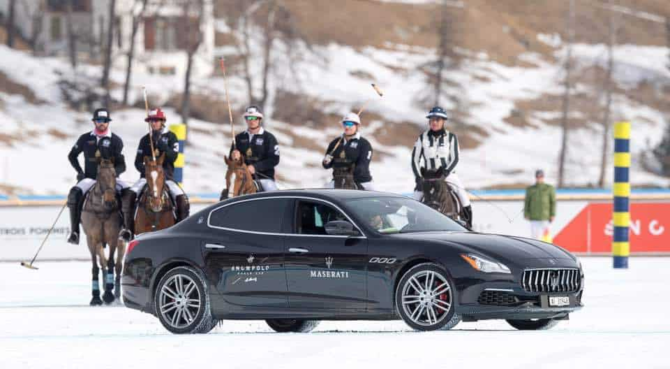 Maserati at St Moritz Snow Polo 2017