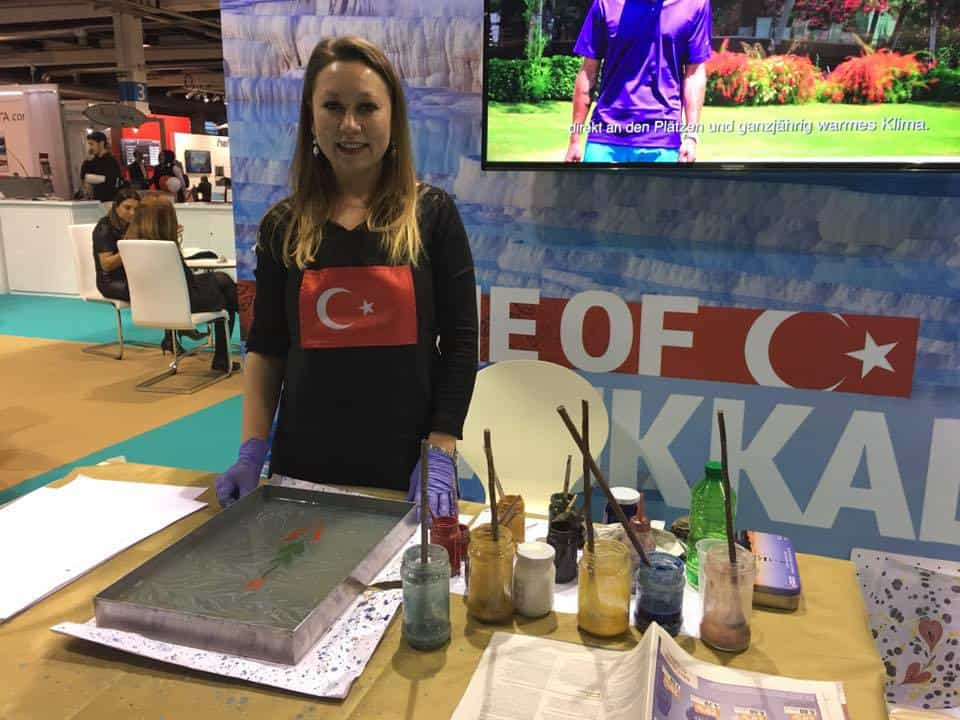 Turkish Stand at Fespo