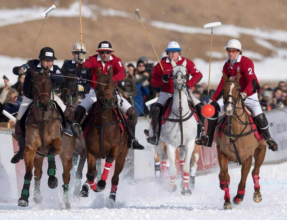 Photos of St Moritz Snow Polo 2017
