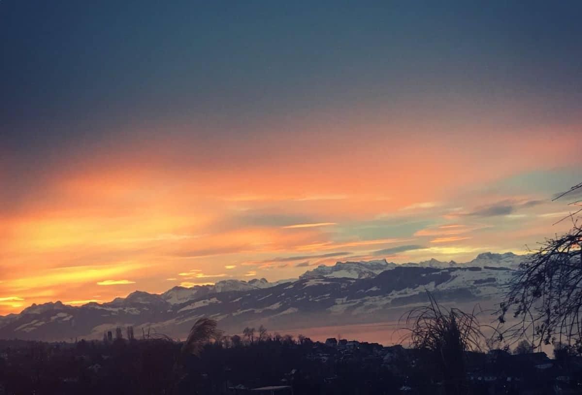 Winter in Switzerland photo by Deborah Cameron