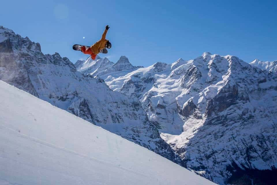 Gian Simmen Olympic Snowboarder