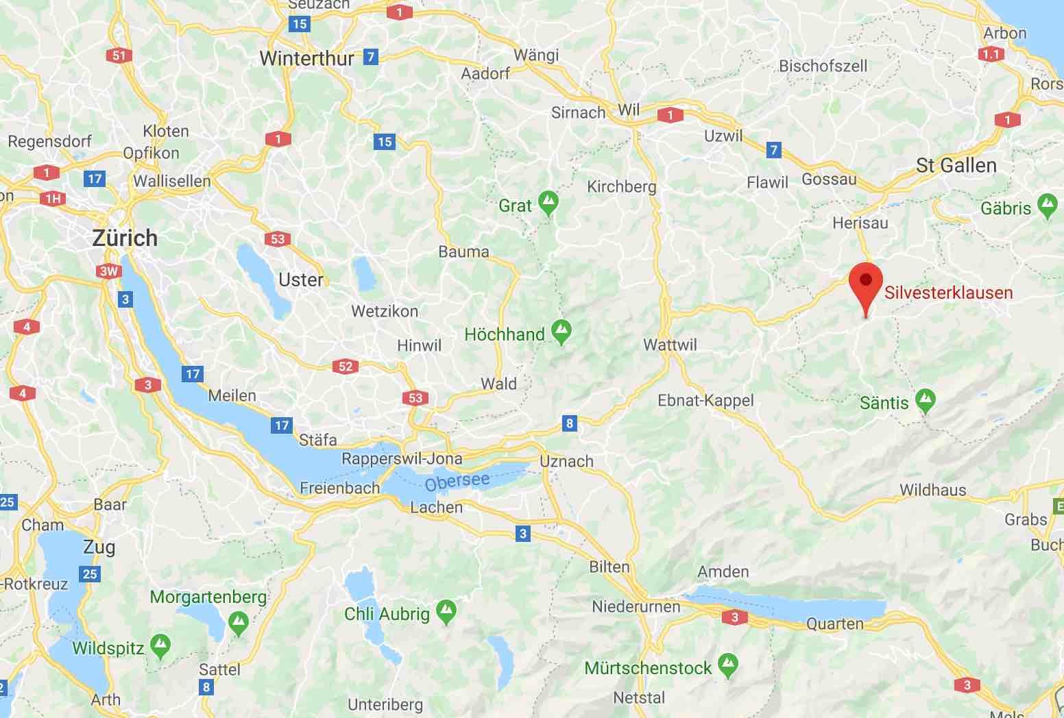 Silvesterklausen Urnäsch Appenzell Switzerland