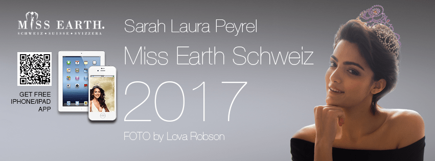 Miss Earth Schweiz Sarah Laurel Peyrel