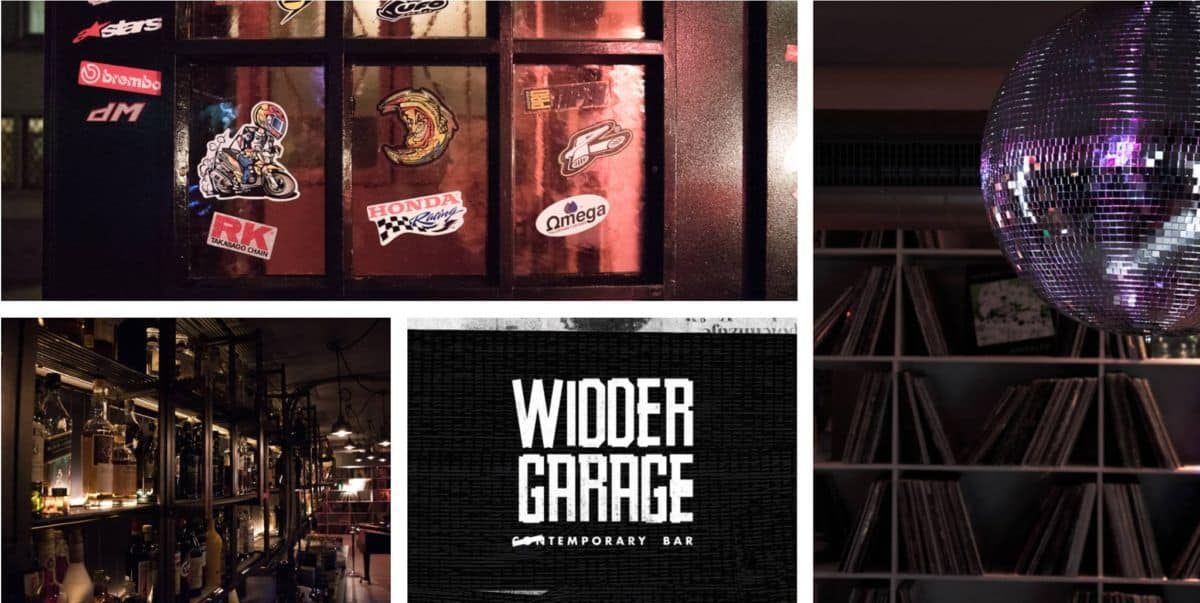 Cool New Bar in Zurich - Widder Garage