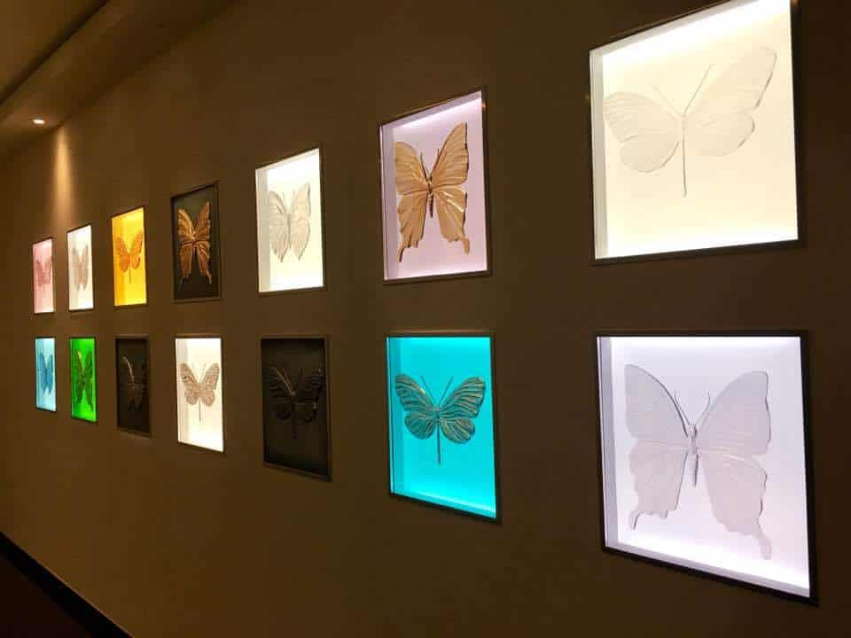Damien Hirst's Lalique Eternal Butterfly Collection
