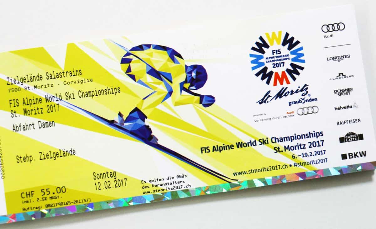 WM Ski Championships St Moritz