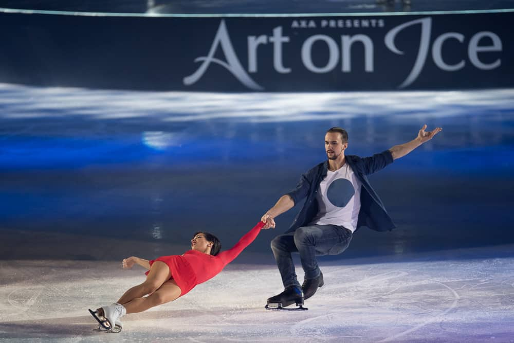 Ksenia Stolbova and Fedor Klimov Art On Ice 2017