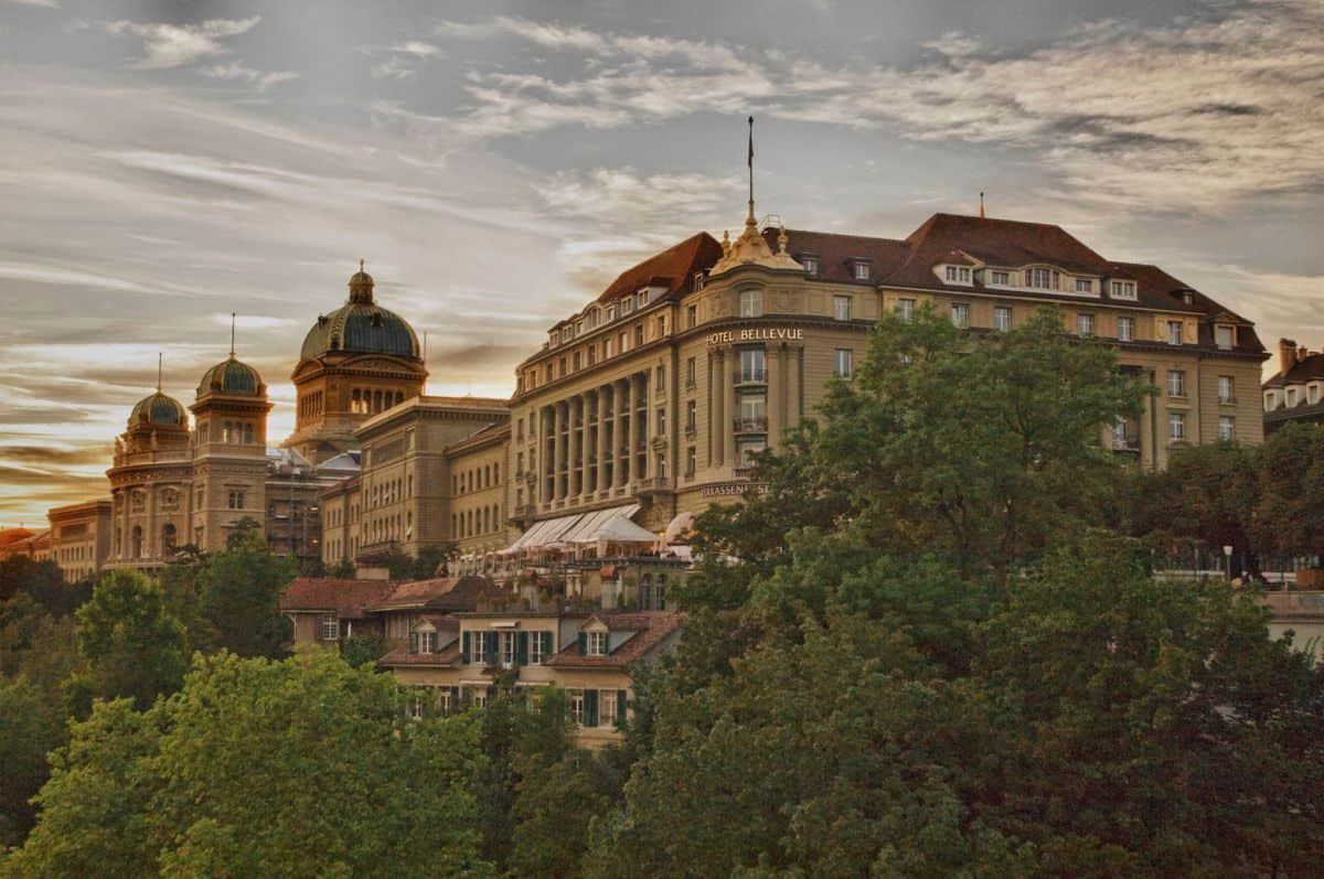 Stately pleasure at Hotel Bellevue Palace Bern