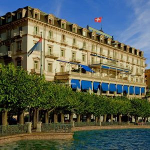 Royal Treatment at the Hotel Splendide Royal Lugano