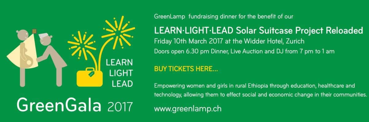 Green Lamp Charity Dinner Widder Hotel