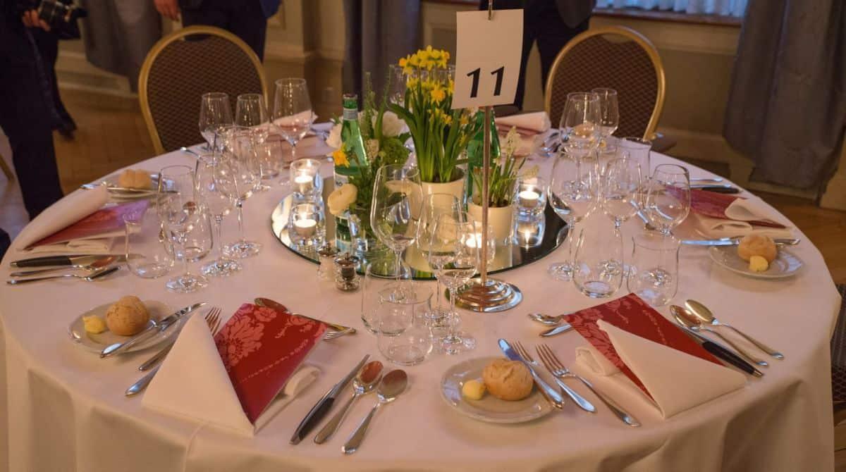 Sapori Ticino Gala Dinner at Bellevue Palace Bern