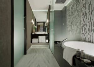 Bathrooms at the Hotel Schweizerhof Bern