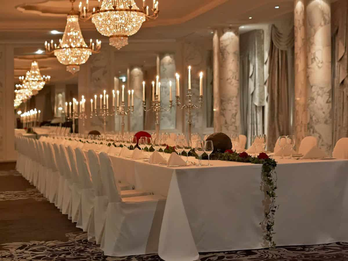 The Trianon Ballroom at the Hotel Schweizerhof Bern