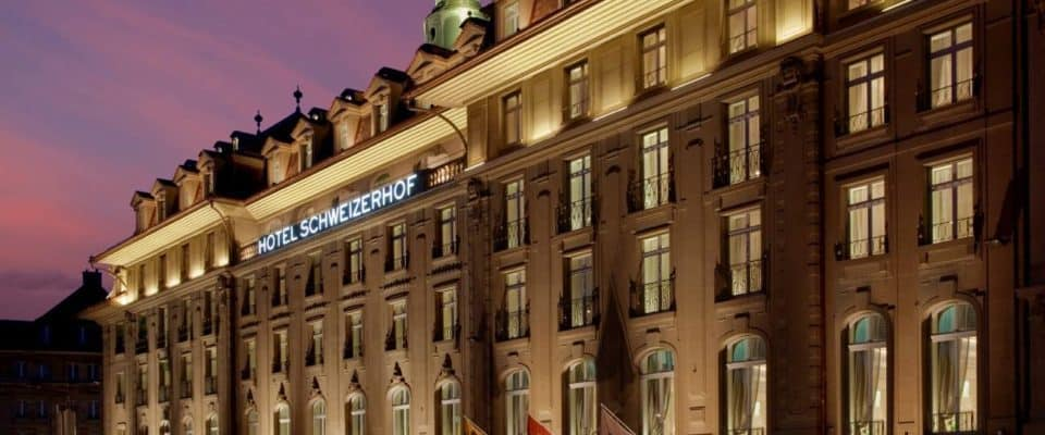 Hotel Schweizerhof Bern - Luxury Hotel of the Year