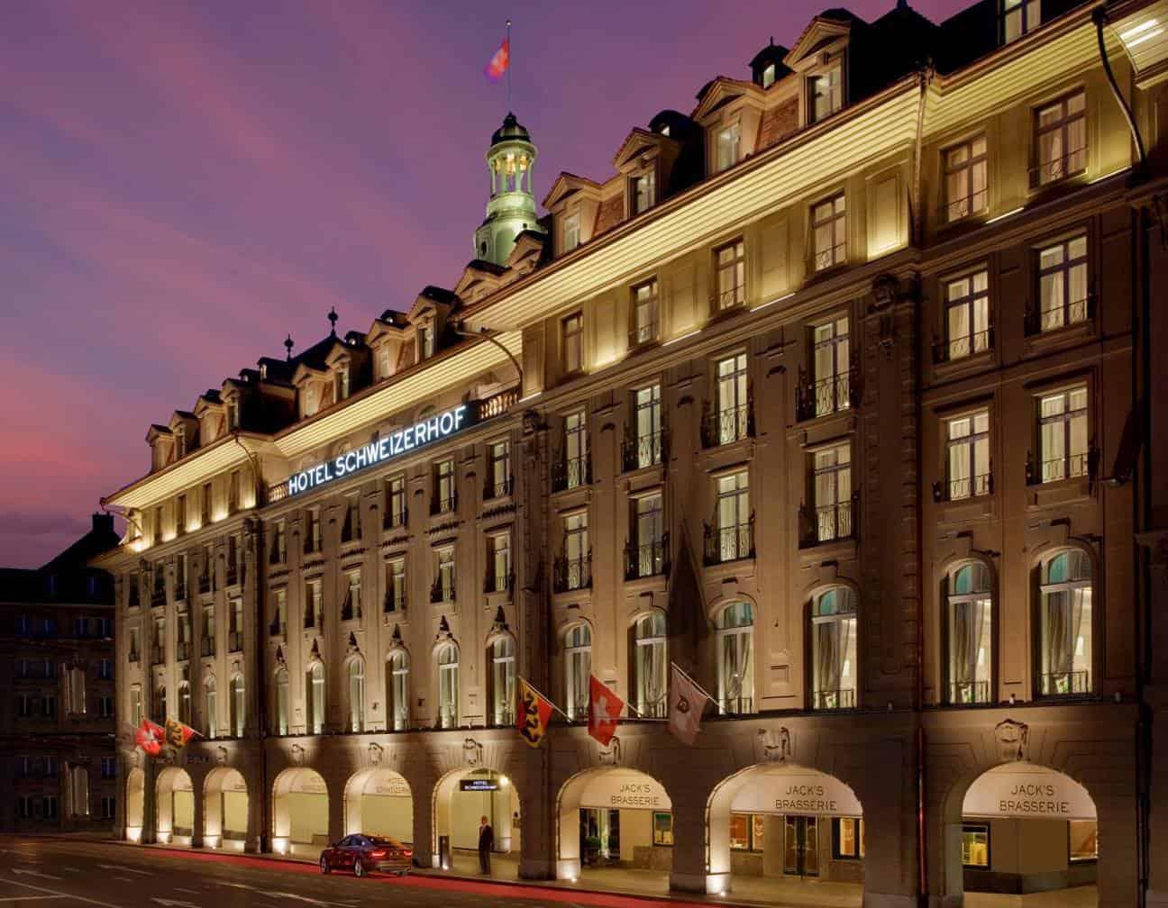 Hotel Schweizerhof Bern - Luxury Hotel of the Year